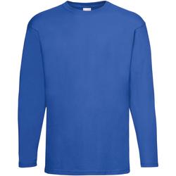 Kleidung Herren Langarmshirts Universal Textiles 61038 Kobalt