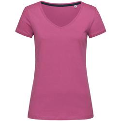 Kleidung Damen T-Shirts Stedman Stars Megan Cupcake Pink