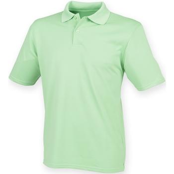 Kleidung Herren Polohemden Henbury HB475 Limette