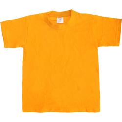 Kleidung Kinder T-Shirts B And C TK301 Gold