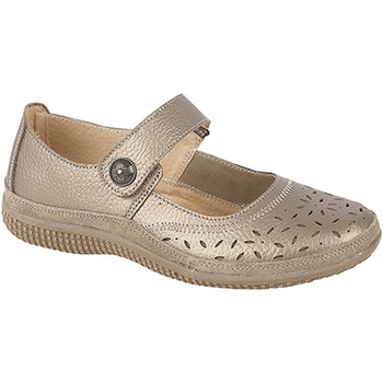 Schuhe Damen Ballerinas Boulevard  Bronze