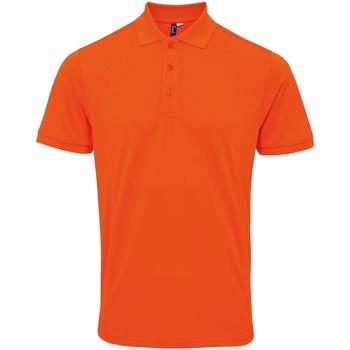 Kleidung Herren Polohemden Premier PR630 Orange