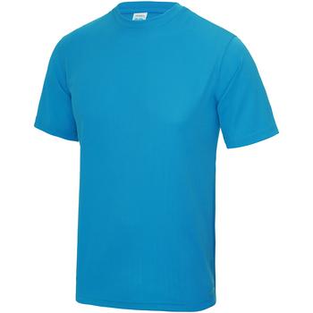 Kleidung Kinder T-Shirts Awdis JC01J Saphirblau