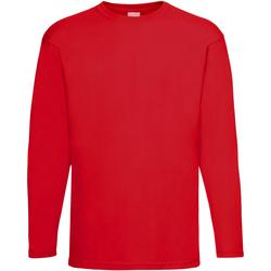 Kleidung Herren Langarmshirts Universal Textiles 61038 Hellrot