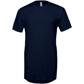 Kleidung Herren T-Shirts Bella + Canvas Long Body Marineblau