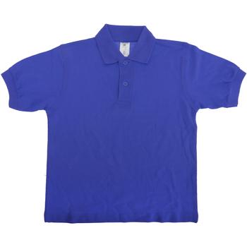 Kleidung Kinder Polohemden B And C PK486 Königsblau