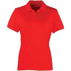 Kleidung Damen Polohemden Premier PR616 Erdbeerrot
