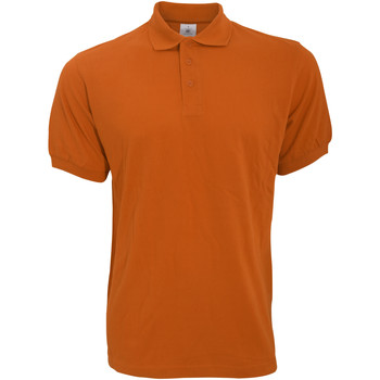 Kleidung Herren Polohemden B And C PU409 Kürbisfarben
