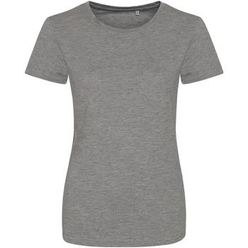 Kleidung Damen T-Shirts Awdis JT01F Grau meliert