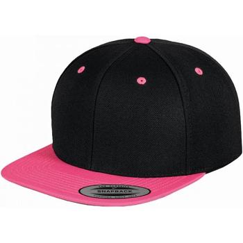 Accessoires Schirmmütze Yupoong  Schwarz/ Neon Pink