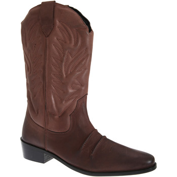 Schuhe Herren Klassische Stiefel Woodland High Clive Dunkelbraun