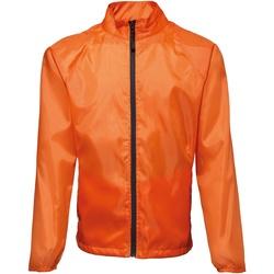 Kleidung Herren Windjacken 2786 TS011 Orange/Schwarz