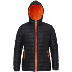 Kleidung Damen Daunenjacken 2786 TS16F Schwarz/Orange