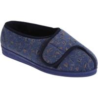 Schuhe Damen Hausschuhe Comfylux  Blaubeer