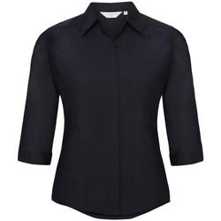 Kleidung Damen Hemden Russell 926F Marineblau