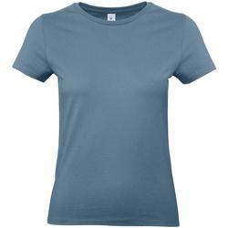 Kleidung Damen T-Shirts B And C E190 Steinblau