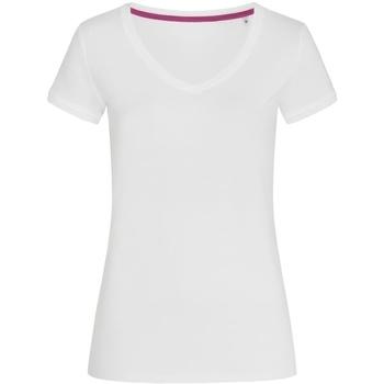 Kleidung Damen T-Shirts Stedman Stars Megan Weiß