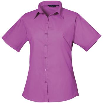 Kleidung Damen Hemden Premier PR302 Hot Pink