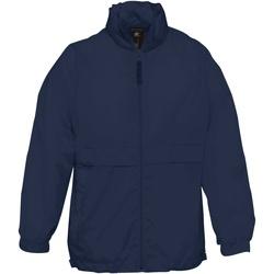Kleidung Kinder Jacken B And C Sirocco Marineblau