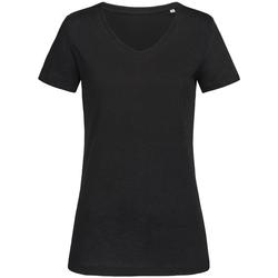 Kleidung Damen T-Shirts Stedman Stars  Schwarz