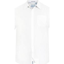 Kleidung Herren Kurzärmelige Hemden Duke  Weiß