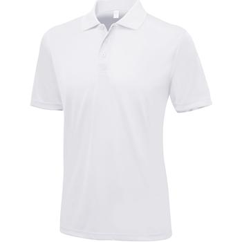 Kleidung Herren Polohemden Awdis Smooth Schneeweiß