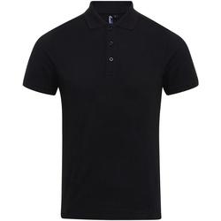 Kleidung Herren Polohemden Premier PR630 Schwarz
