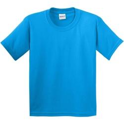 Kleidung Kinder T-Shirts Gildan 5000B Saphir