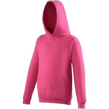 Kleidung Kinder Sweatshirts Awdis JH01J Dunkles Pink
