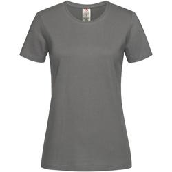 Kleidung Damen T-Shirts Stedman  Grau