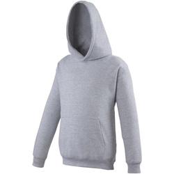 Kleidung Kinder Sweatshirts Awdis JH01J Grau meliert