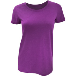 Kleidung Damen T-Shirts Bella + Canvas BE8413 Rotbraun Triblend