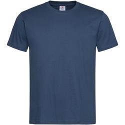 Kleidung Herren T-Shirts Stedman Stars  Marineblau