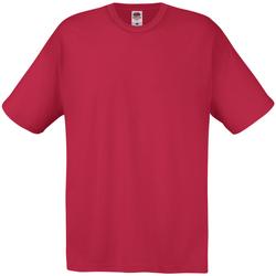 Kleidung Herren T-Shirts Universal Textiles 61082 Dunkelrot