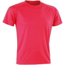 Kleidung T-Shirts Spiro Aircool Super Pink
