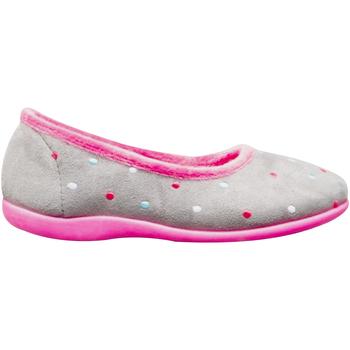 Schuhe Damen Hausschuhe Sleepers  Grau/Fuchsia