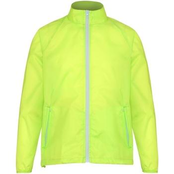Kleidung Herren Windjacken 2786 TS011 Gelb/Weiß