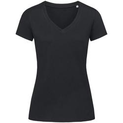 Kleidung Damen T-Shirts Stedman Stars Janet Schwarz