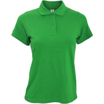 Kleidung Damen Polohemden B And C PW455 Kellygrün