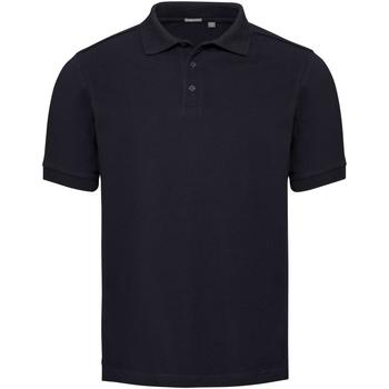 Kleidung Herren Polohemden Russell Pique Marineblau