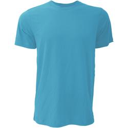 Kleidung Herren T-Shirts Bella + Canvas CA3001 Aqua meliert