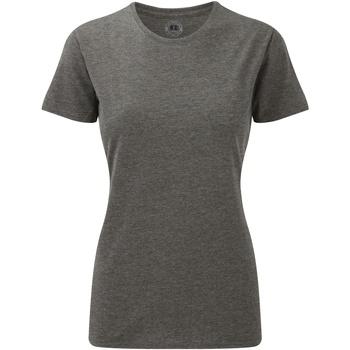 Kleidung Damen T-Shirts Russell 165F Grau meliert