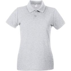 Kleidung Damen Polohemden Universal Textiles 63030 Grau meliert