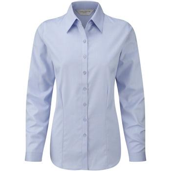 Kleidung Damen Hemden Russell 962F Hellblau