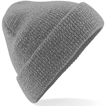 Accessoires Mütze Beechfield Reflective Grau