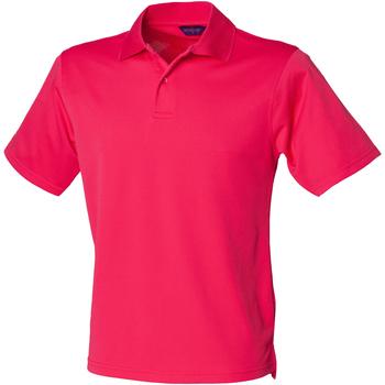 Kleidung Herren Polohemden Henbury HB475 Pink