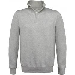 Kleidung Herren Sweatshirts B And C ID.004 Grau meliert