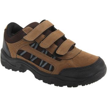 Schuhe Jungen Wanderschuhe Dek  Khaki/Braun