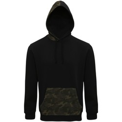 Kleidung Herren Sweatshirts Asquith & Fox AQ047 Schwarz