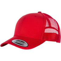 Accessoires Schirmmütze Yupoong YP023 Rot